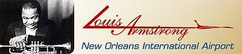 Louis Armstrong New Orleans International Airport logo