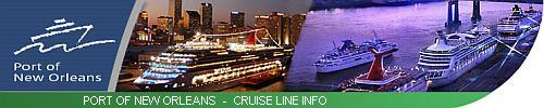 New Orleans Cruise Lines Schedules & Information